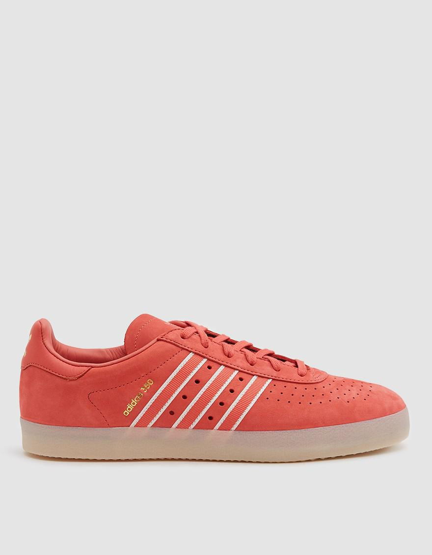 new concept 422ee 0b1f4 adidas 350 Oyster Sneaker in Red for Men - Lyst