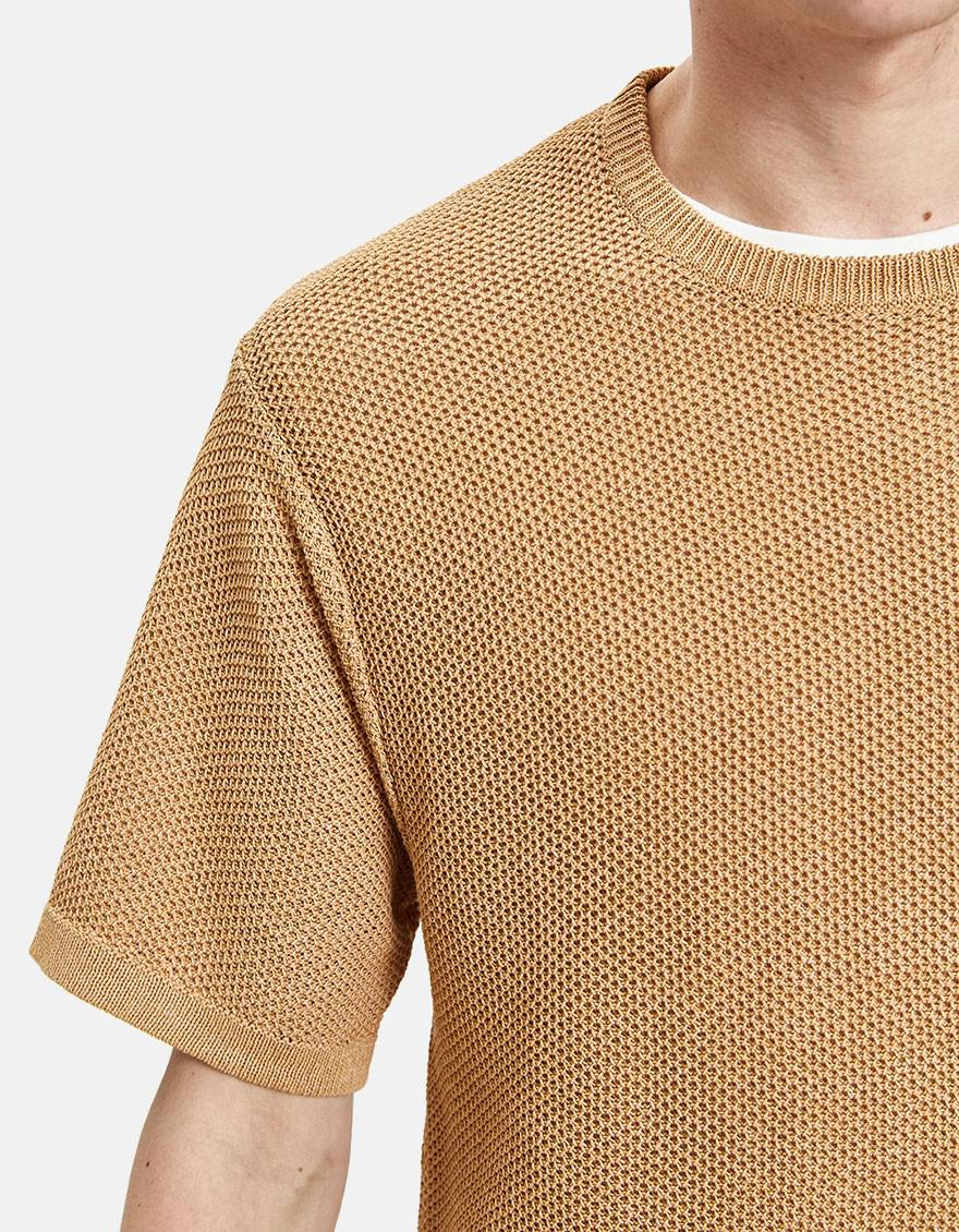 d1e863787a36 Lyst - Saturdays NYC Pacho Paper Yarn Sweater in Natural for Men
