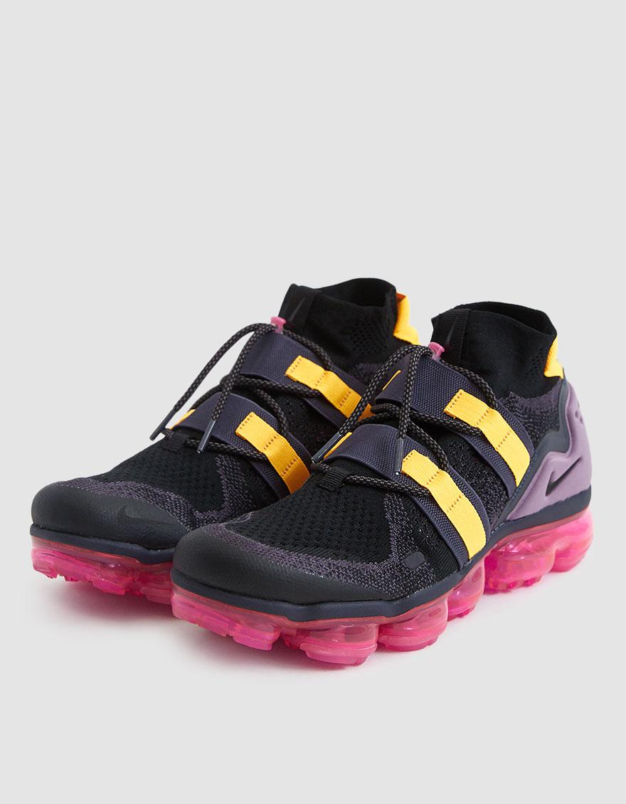 80e7e4d881ff Nike - Black Air Vapormax Flyknit Utility Sneaker for Men - Lyst. View  fullscreen