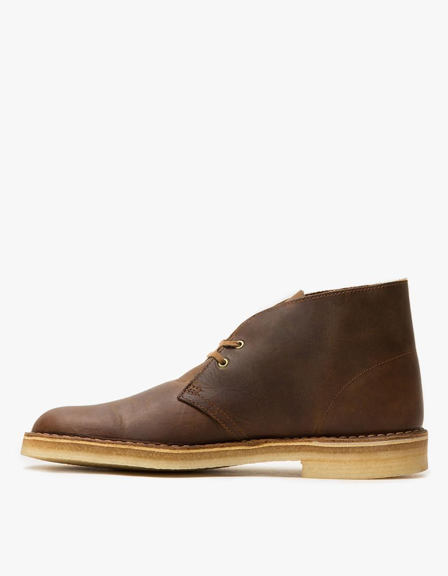 e6516f806de Clarks Desert Boot In Beeswax for Men - Lyst