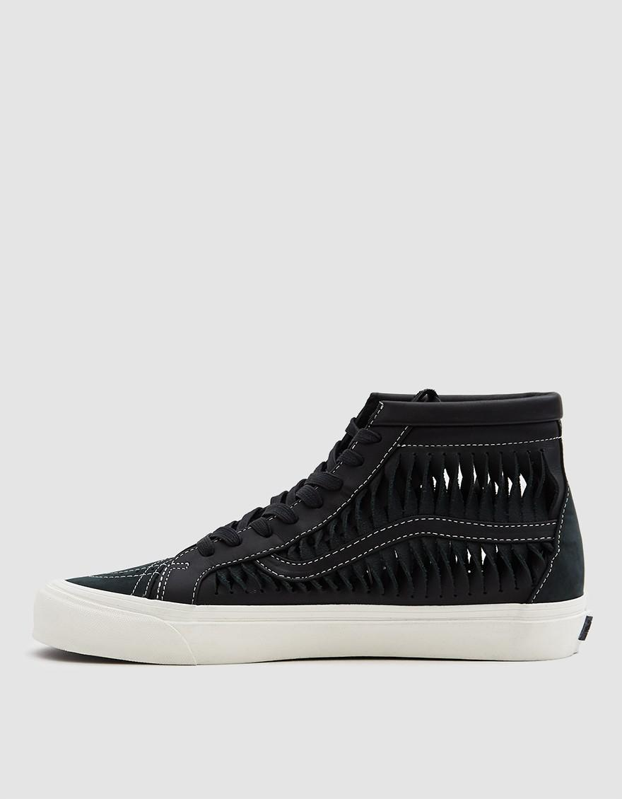 Vans Twisted Leather Sk8-hi Reissue Lx Sneaker in Black for Men - Lyst 5044d6167