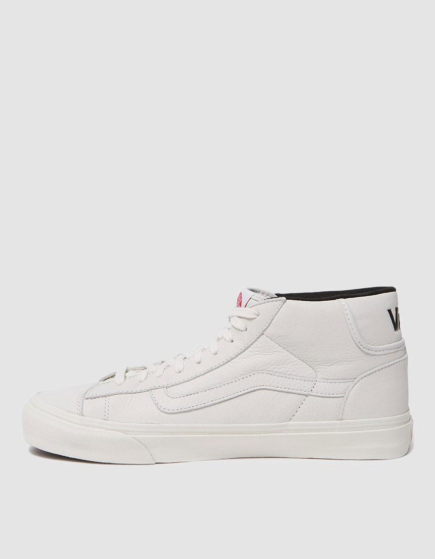26f6929cc1d252 Lyst - Vans Og Mid Skool Lx in White for Men