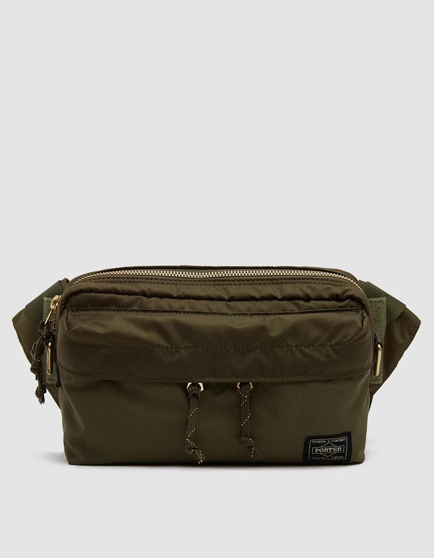 21377c73debf Lyst - Porter Force 2way Waist Bag in Green for Men