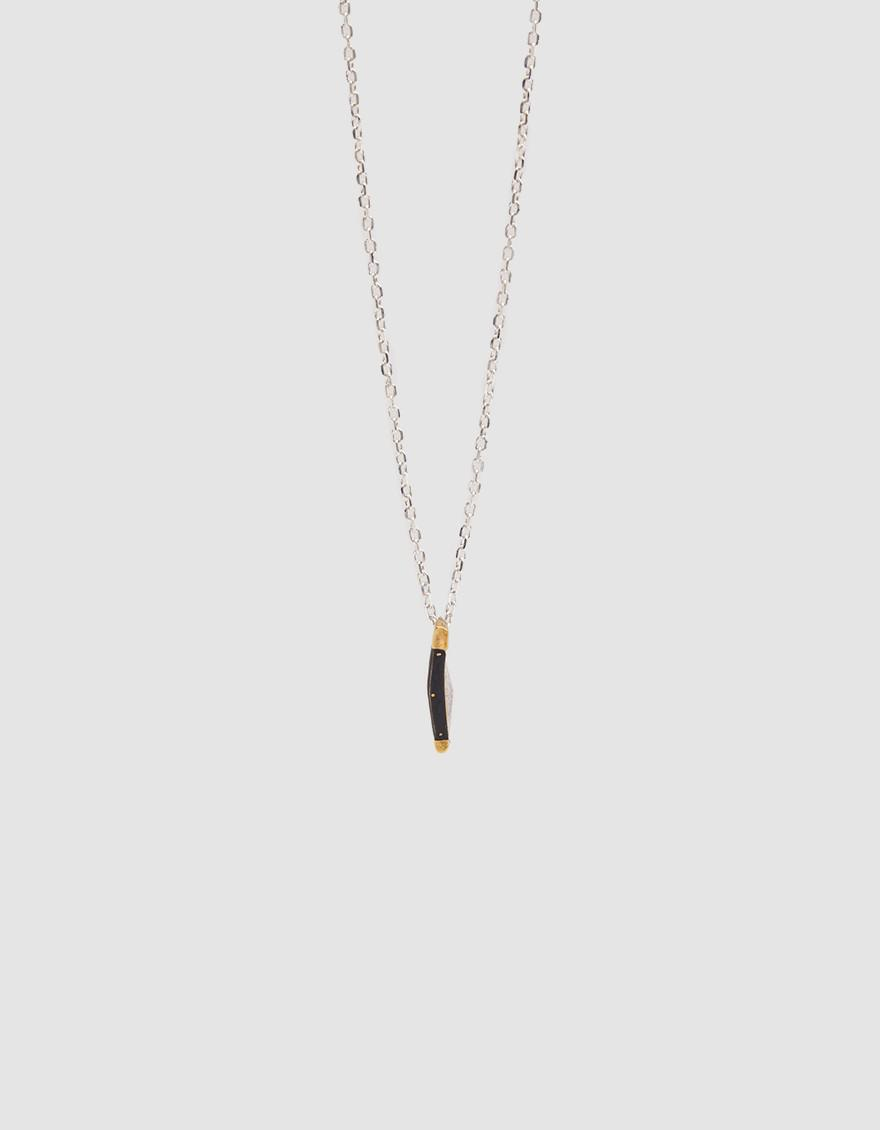 Undercover pendant necklace - Metallic VSlL7qZ6O