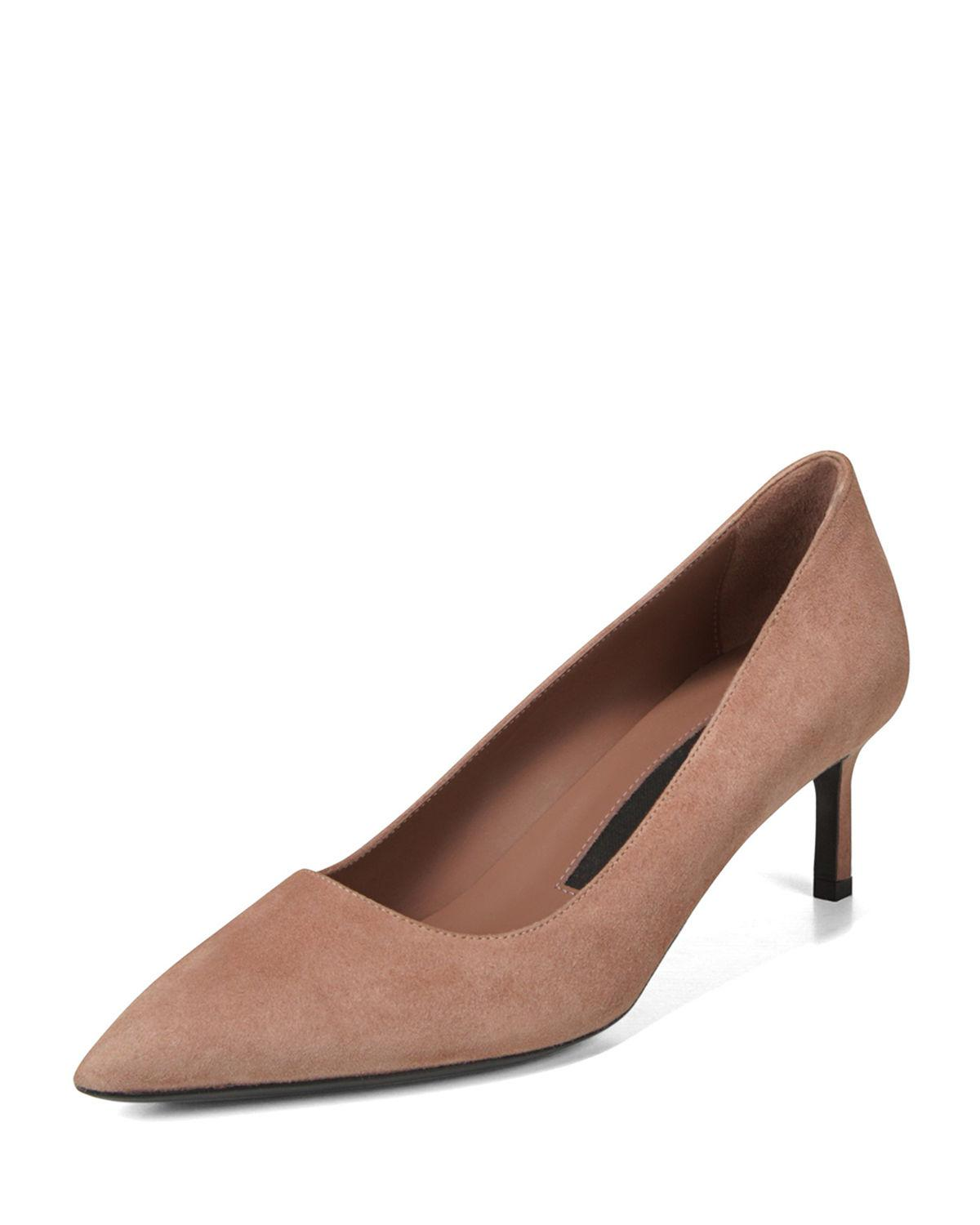 93fd8978c3 Lyst - Via Spiga Women's Nikole 55 Kitten Heel Pumps in Brown - Save 34%