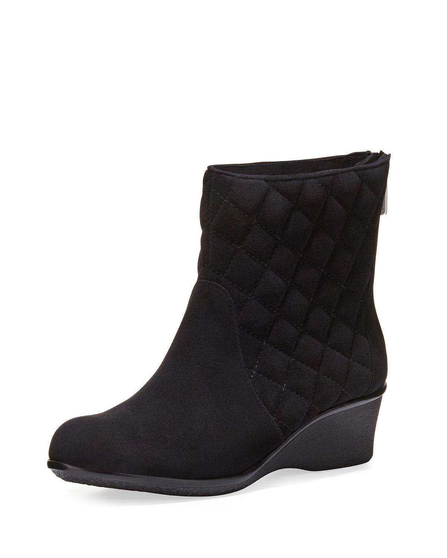 Black Demi Wedge Shoes