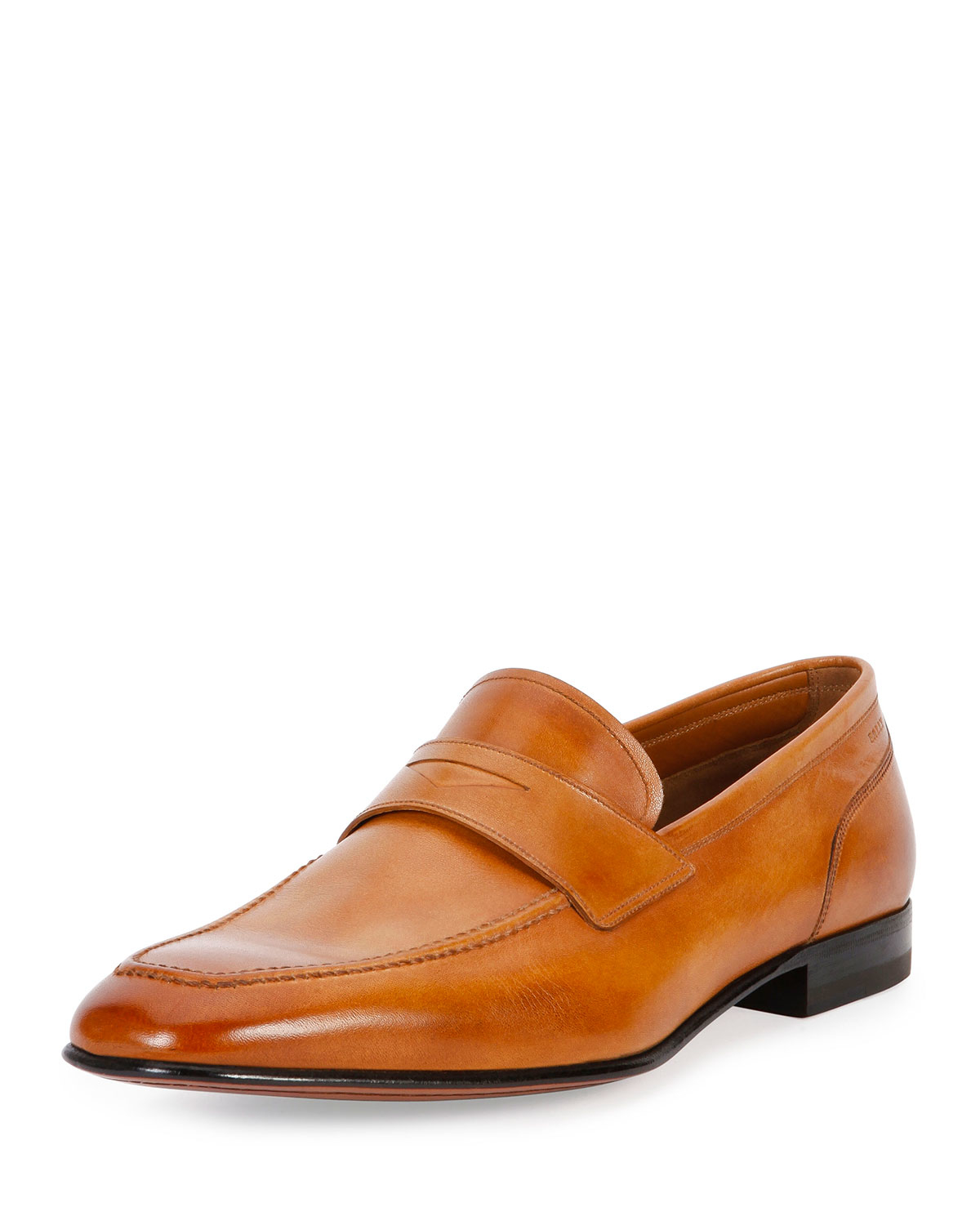 Bally Brent Leather Penny Loafer in Brown for Men   Lyst