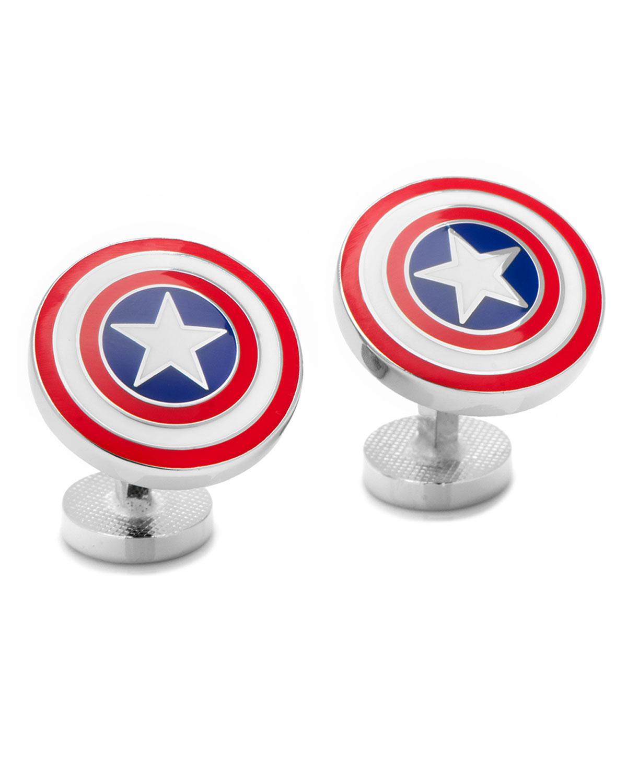 Cufflinks Inc. Captain American Shield Cuff Links EnhxoSV