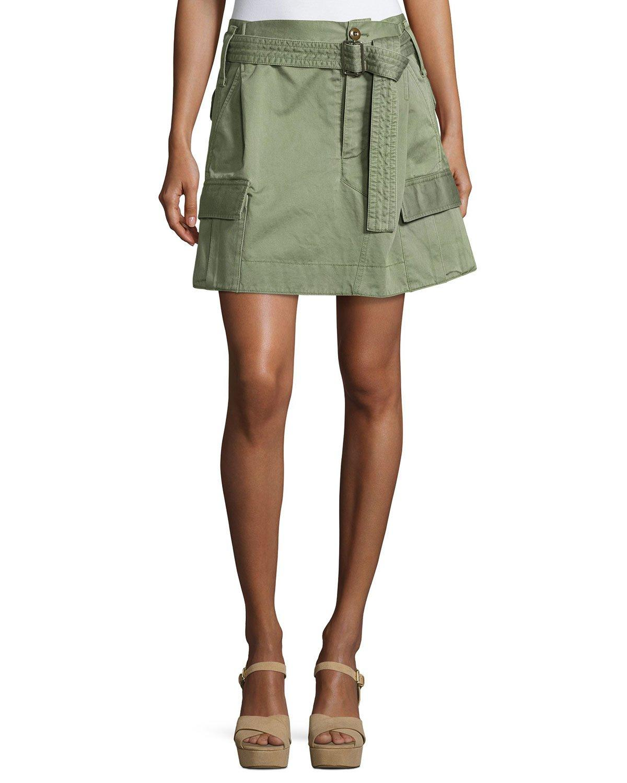 Cargo Pocket Skirt 2