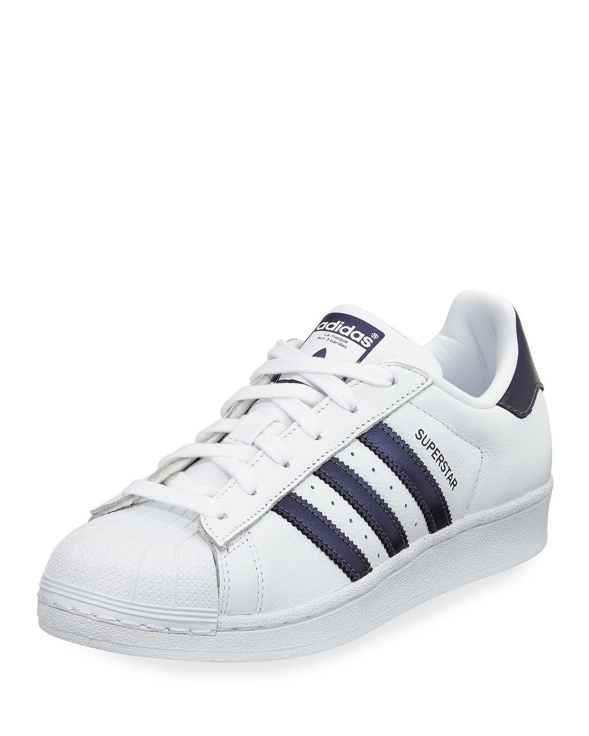 online retailer 69368 2433b adidas. Men s Superstar Lace-up 3-stripes® Sneakers.  80 From Neiman Marcus