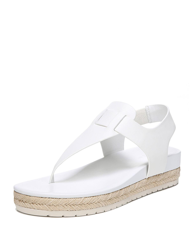 237c490a0d6 Lyst - Vince Flint Platform Espadrille Sandals in White