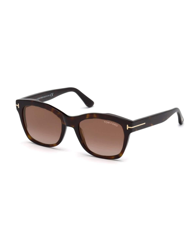 0769fde9f861c Tom Ford - Brown Lauren 02 Square Sunglasses - Lyst. View fullscreen
