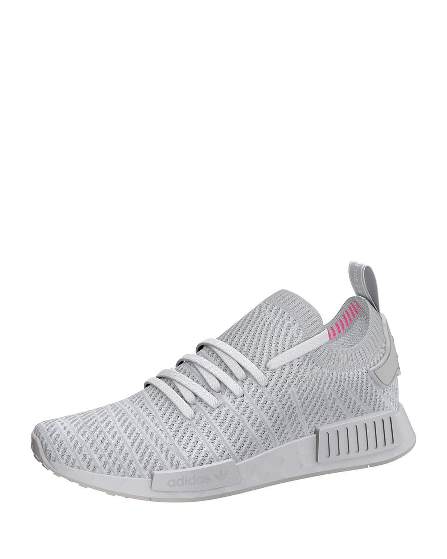 adidas. White Men's Nmd_r1 Primeknit Trainer Sneaker