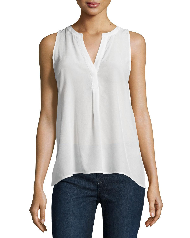 Joie Woman Aruna Metallic Striped Silk-blend Top Off-white Size L Joie Wiki Cheap Price Cheap Pick A Best Free Shipping Find Great 1QvXBXO7VZ