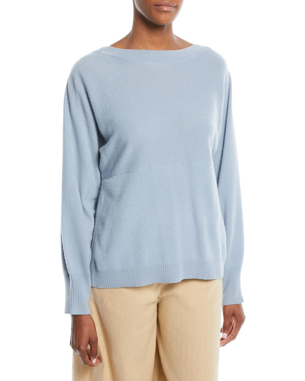 Vince side slit boat neck sweater Low Price Cheap Online Explore Sale Online cVnR4e6