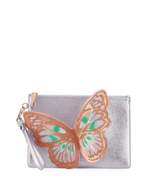 Prix Incroyable Vente Livraison Rapide En Ligne Sophia Webster Papillon Flossy Pochette Cuir Pochette cDzDH