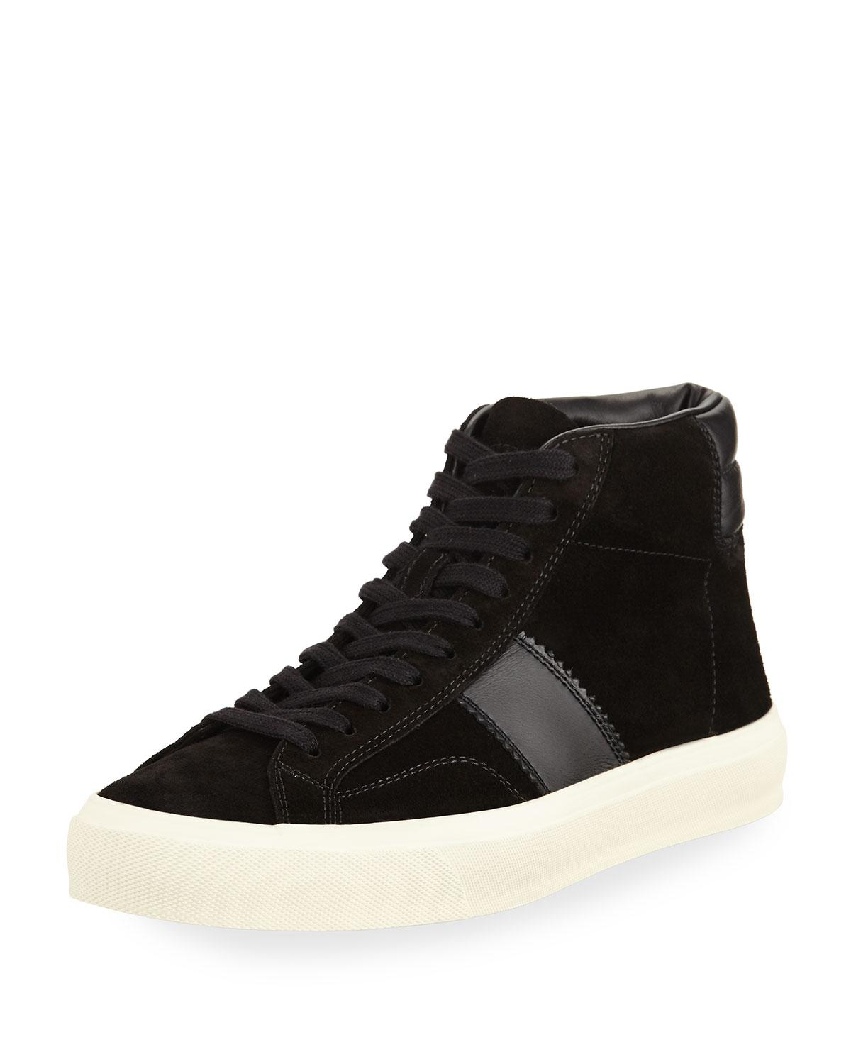 Tom FordSneakers High suede bMEIzfe