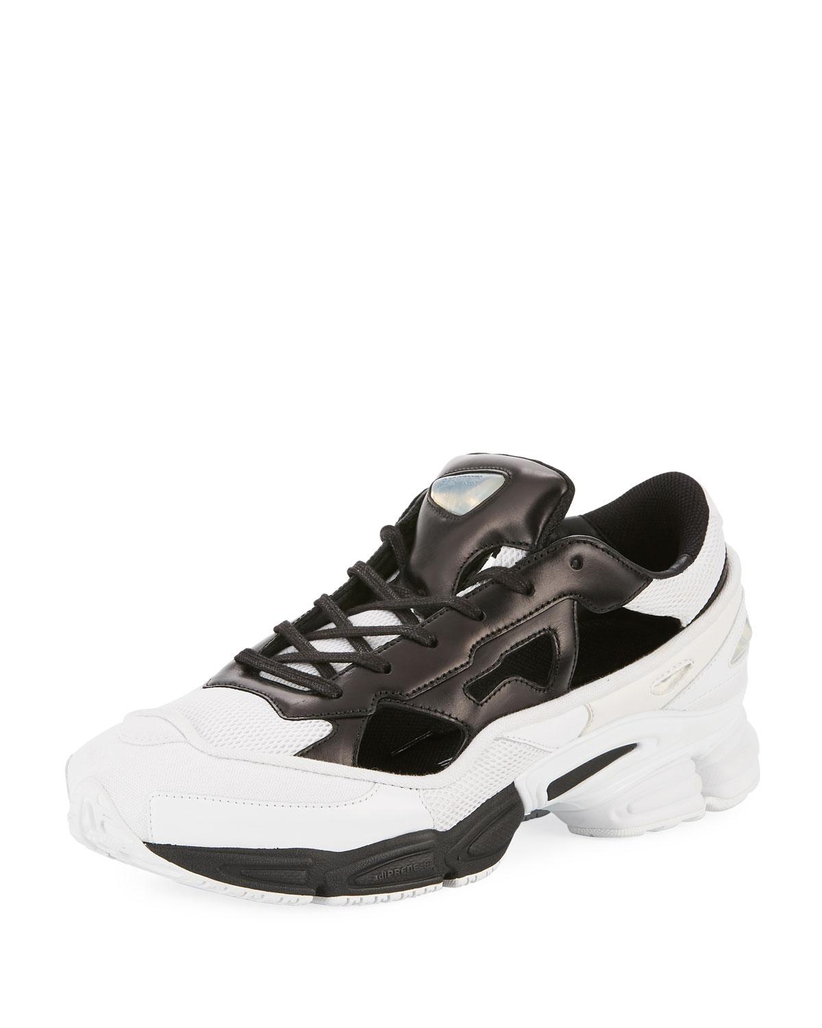 028bf68d7a99bf Lyst - adidas By Raf Simons Men s Replicant Ozweego Trainer Sneakers ...