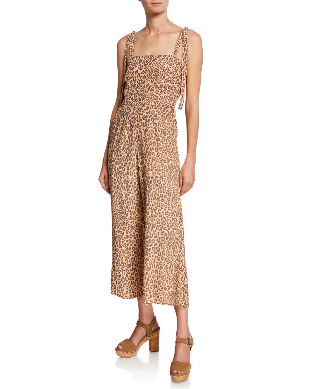 6ccbd9e714b3 Lyst - Faithfull The Brand Elsa Jumpsuit in Brown - Save 50%