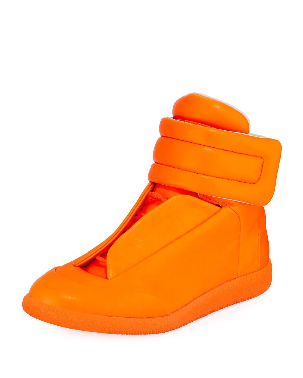 Shop Offer For Sale suede trim sneakers - Yellow & Orange Maison Martin Margiela Free Shipping Best Sale 0JKfk