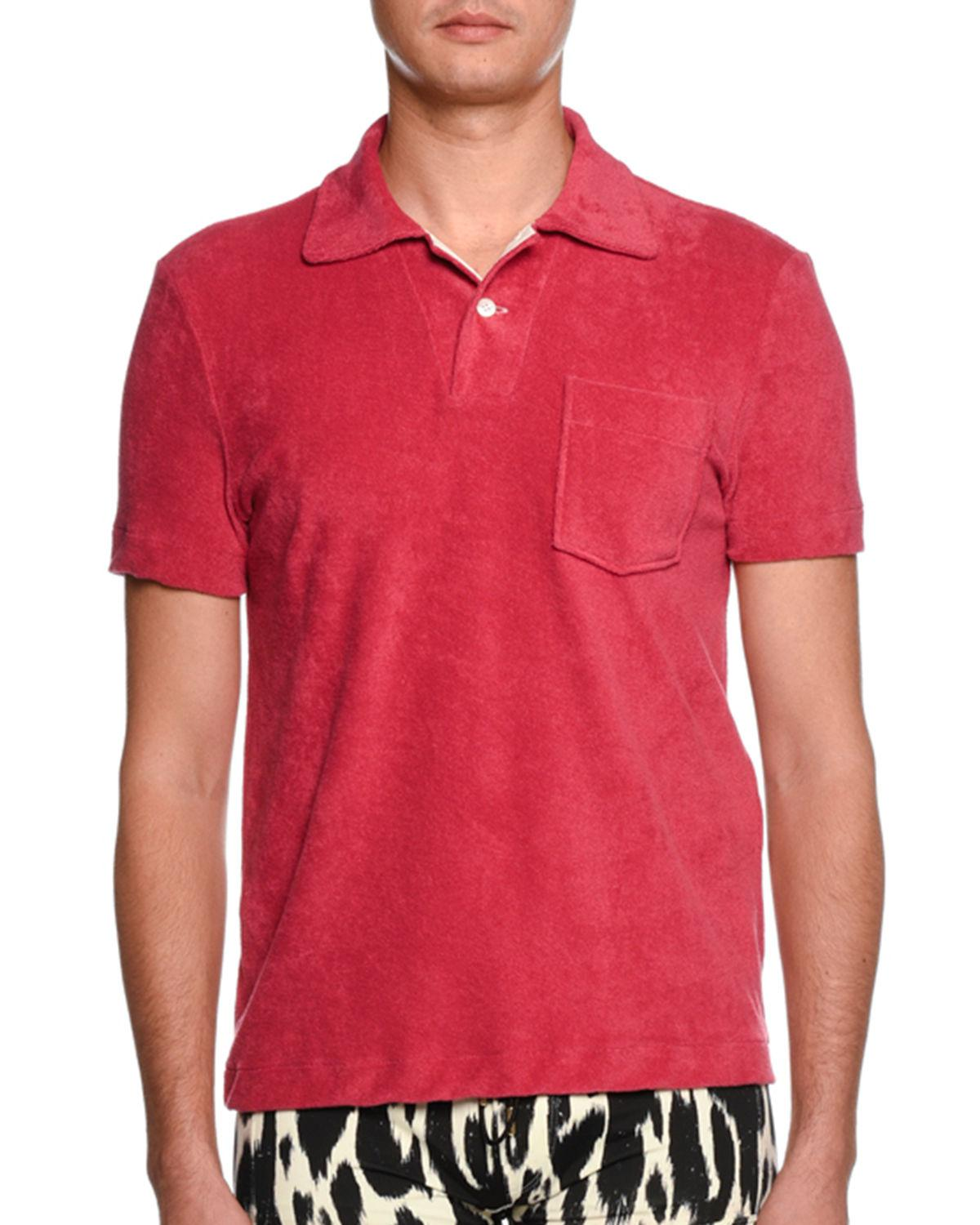 5712523b Tom Ford Mens Polo Shirts