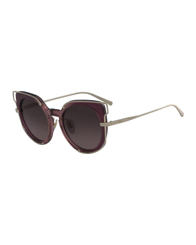 e39117be9f MCM. Women s Cat-eye Zyl   Metal Sunglasses
