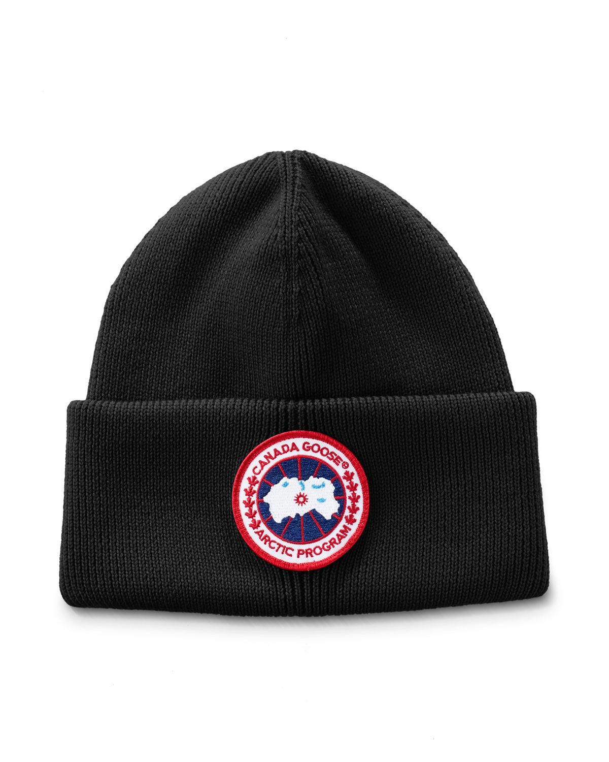 a7e695b5bcf Lyst - Canada Goose Arctic Disc Toque in Black for Men - Save 62%
