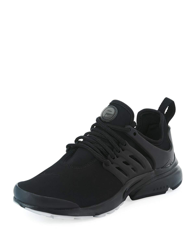 Nike. Men's Black Air Presto Premium Stretch Trainer