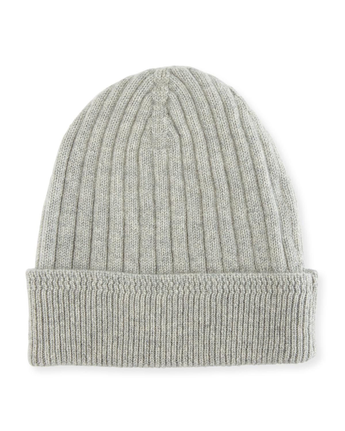 d3504123715 Lyst - Tom Ford Cashmere Ribbed Hat in Gray for Men