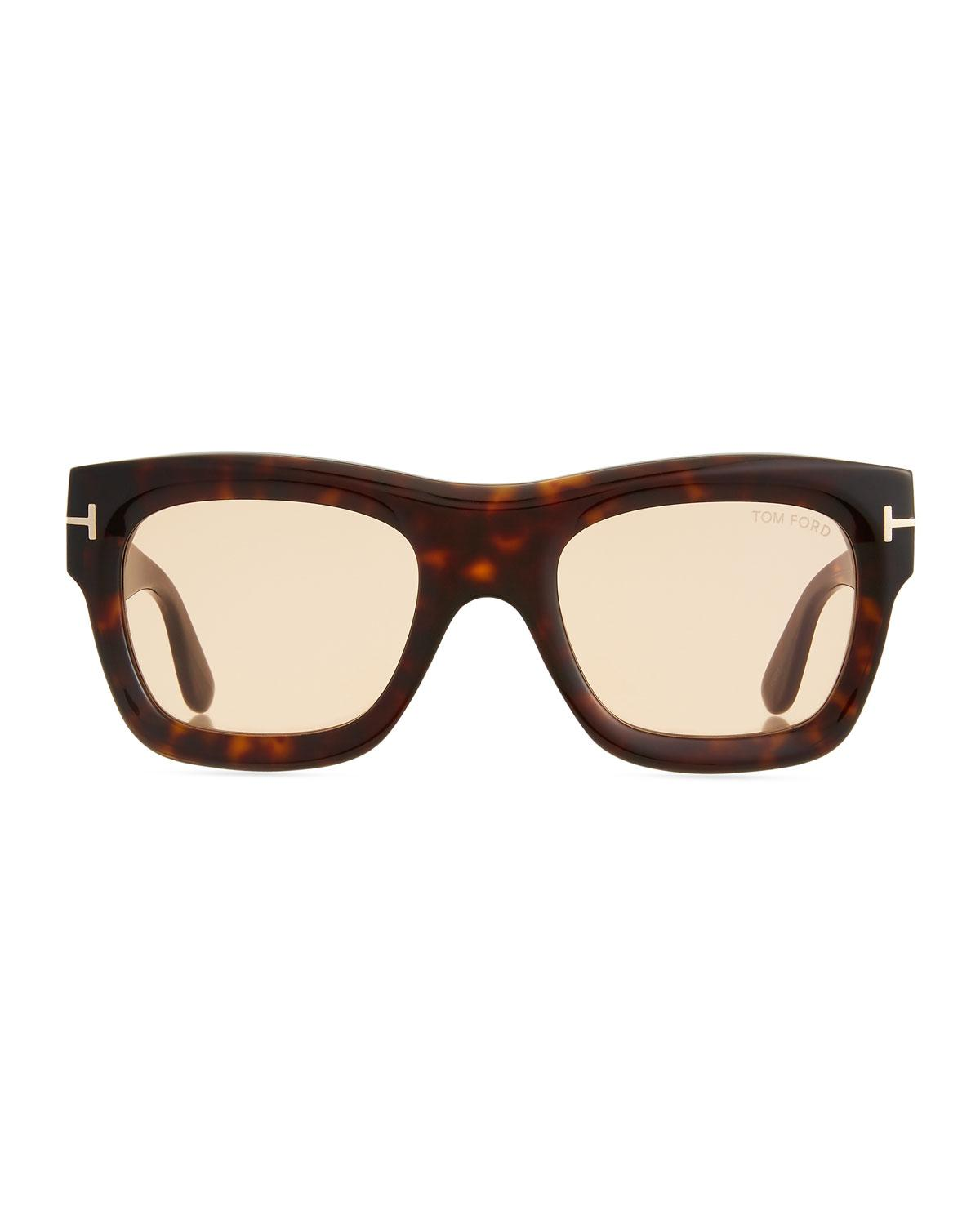 cf6dfae039ea Lyst - Tom Ford Wagner Sunglasses in Brown
