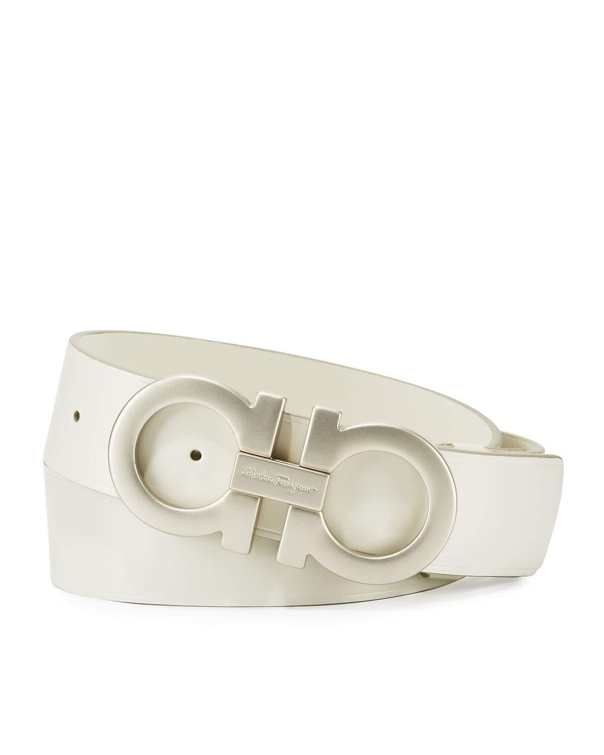 4d94a434239a8 switzerland salvatore ferragamo double gancino belt black b6946 de9f9   wholesale lyst ferragamo tonal double gancini buckle belt in white 26d09  36946