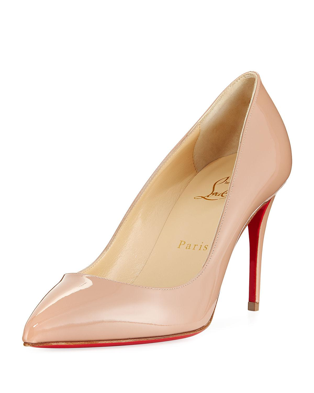 279986f520c Christian Louboutin Pigalle Follies 85mm Patent Red Sole Pump in ...