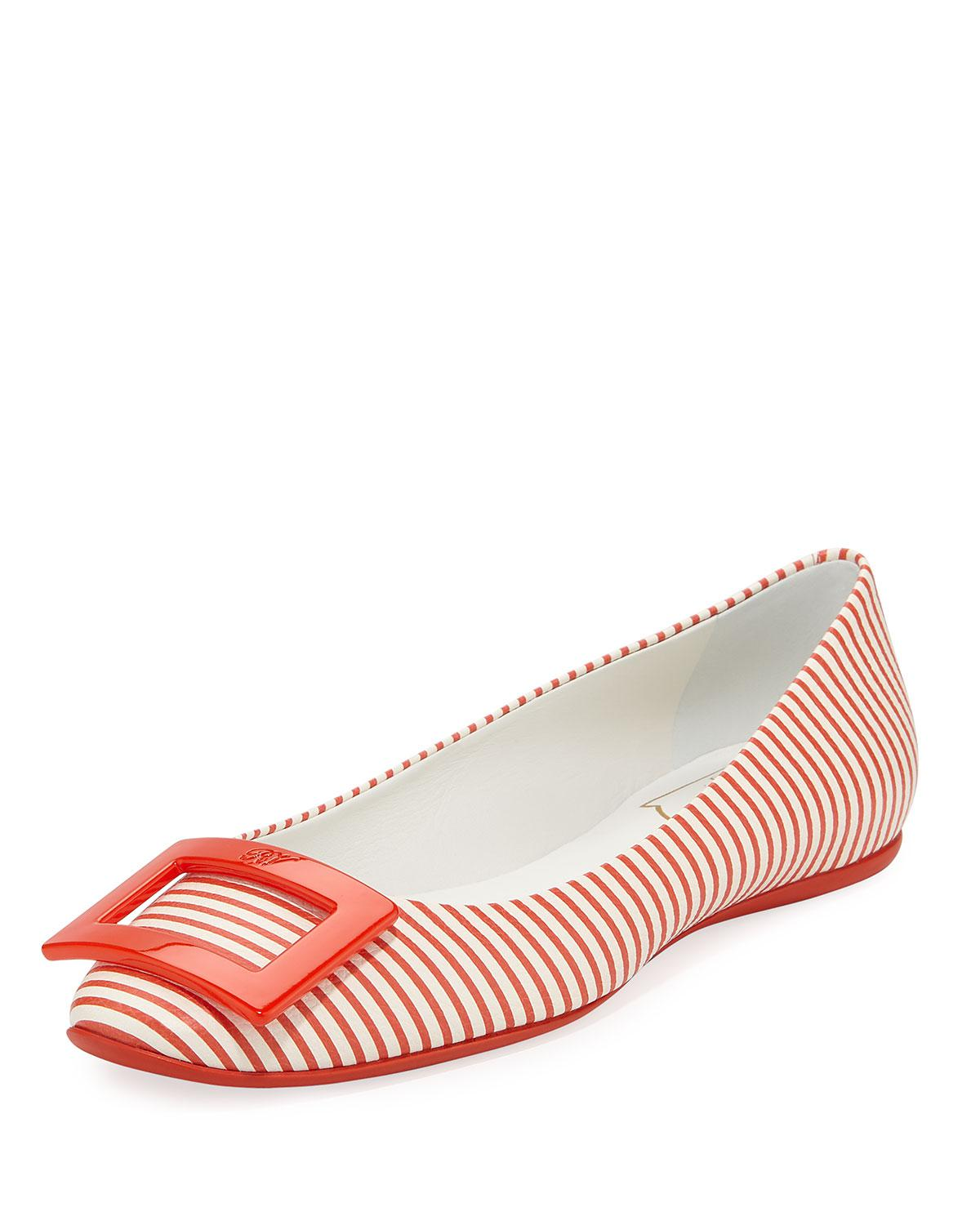 Free Shipping 100% Authentic Roger Vivier Cloth Ballet Flats Buy Cheap Limited Edition Sale Really v8iLNDRZ