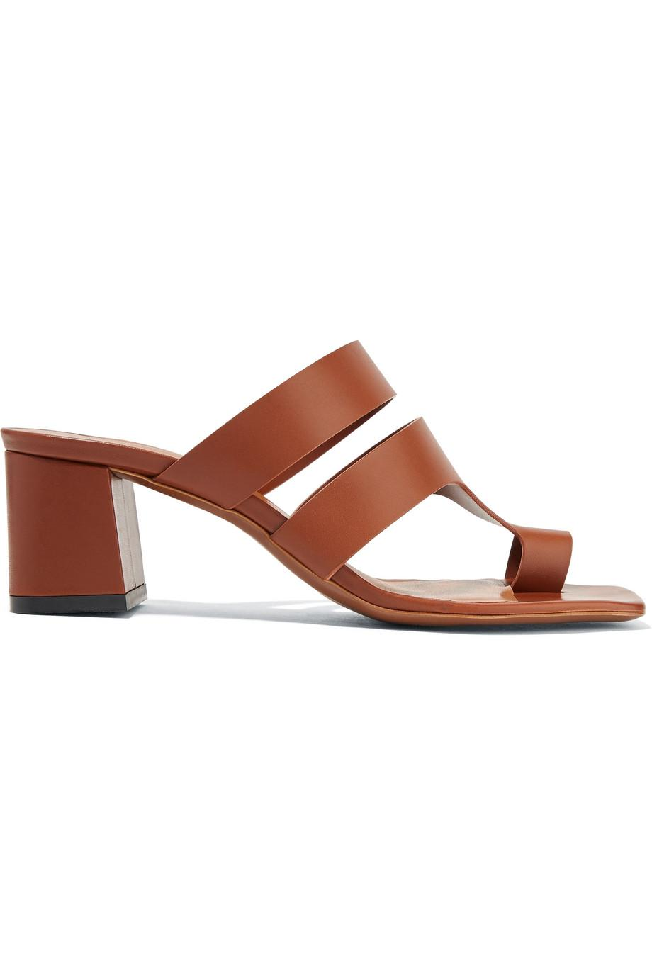 Neous Anthos Cutout Leather Mules 2018 New Online dsgpNU4