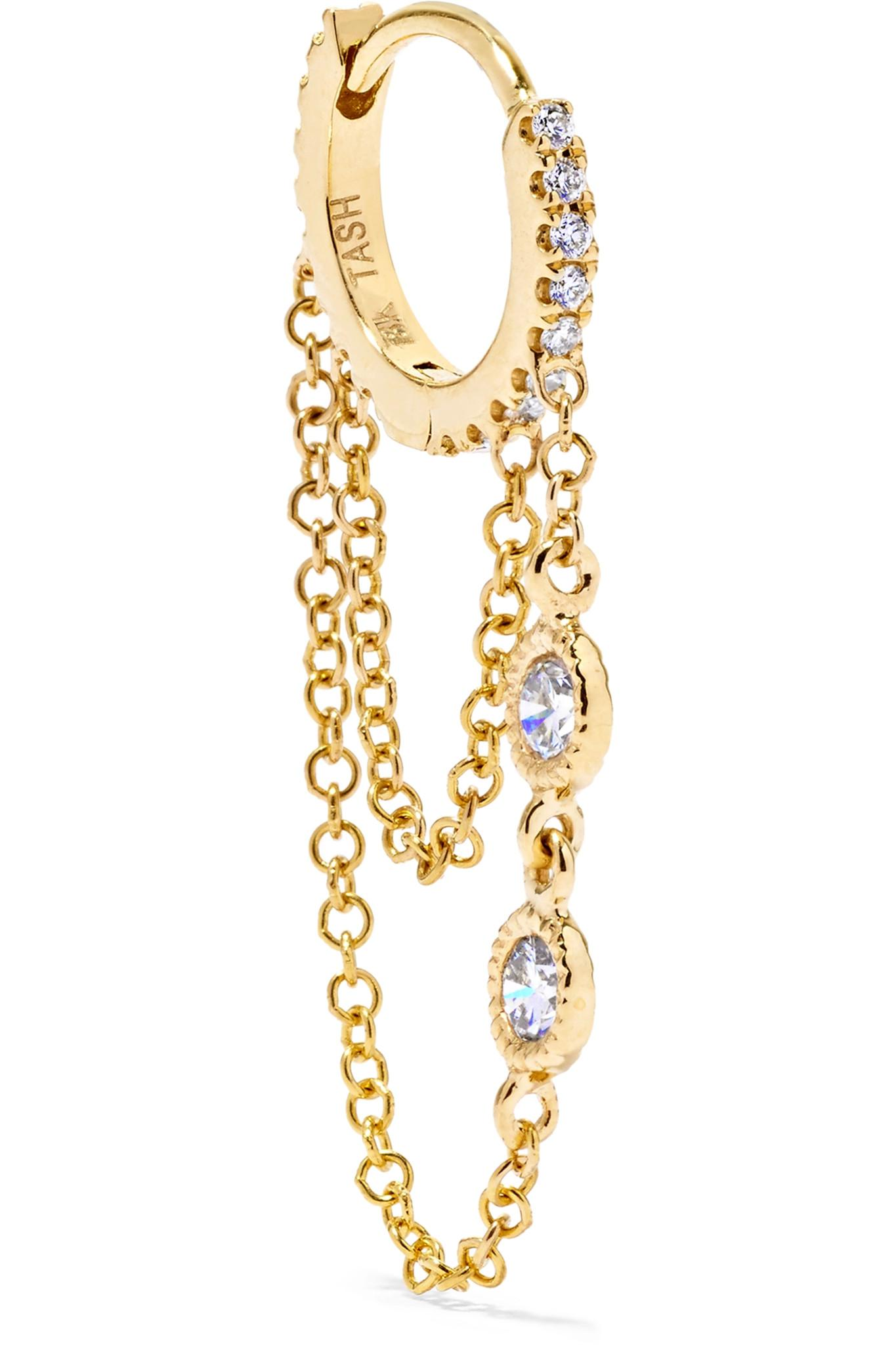 Talon 18-karat Gold Diamond Earring - one size Maria Tash 8wTSggWFJ6