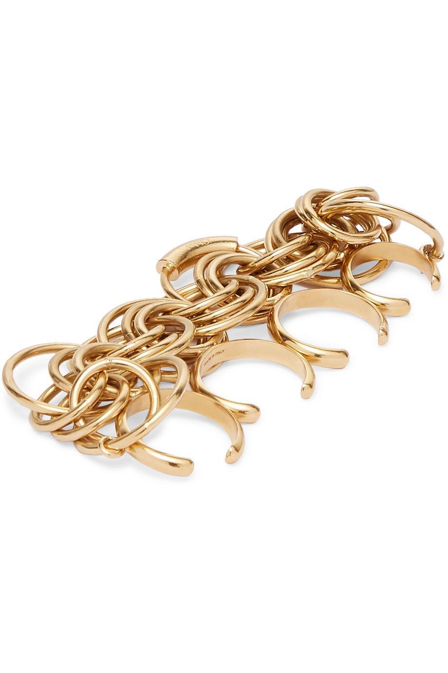 Chloé Reese Gold-tone Ring XJKfal