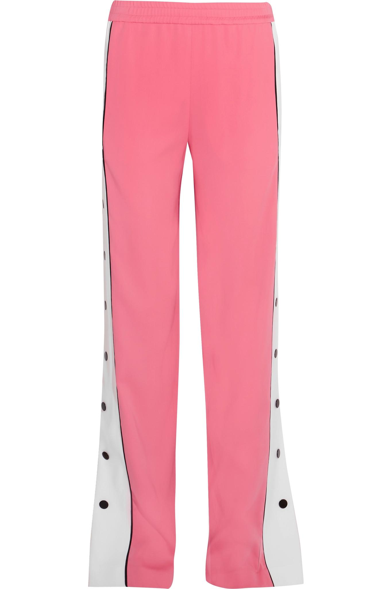 Cheap Official Site Latest plush drawstring track pants - Pink & Purple Emilio Pucci Countdown Package Online UTVlx