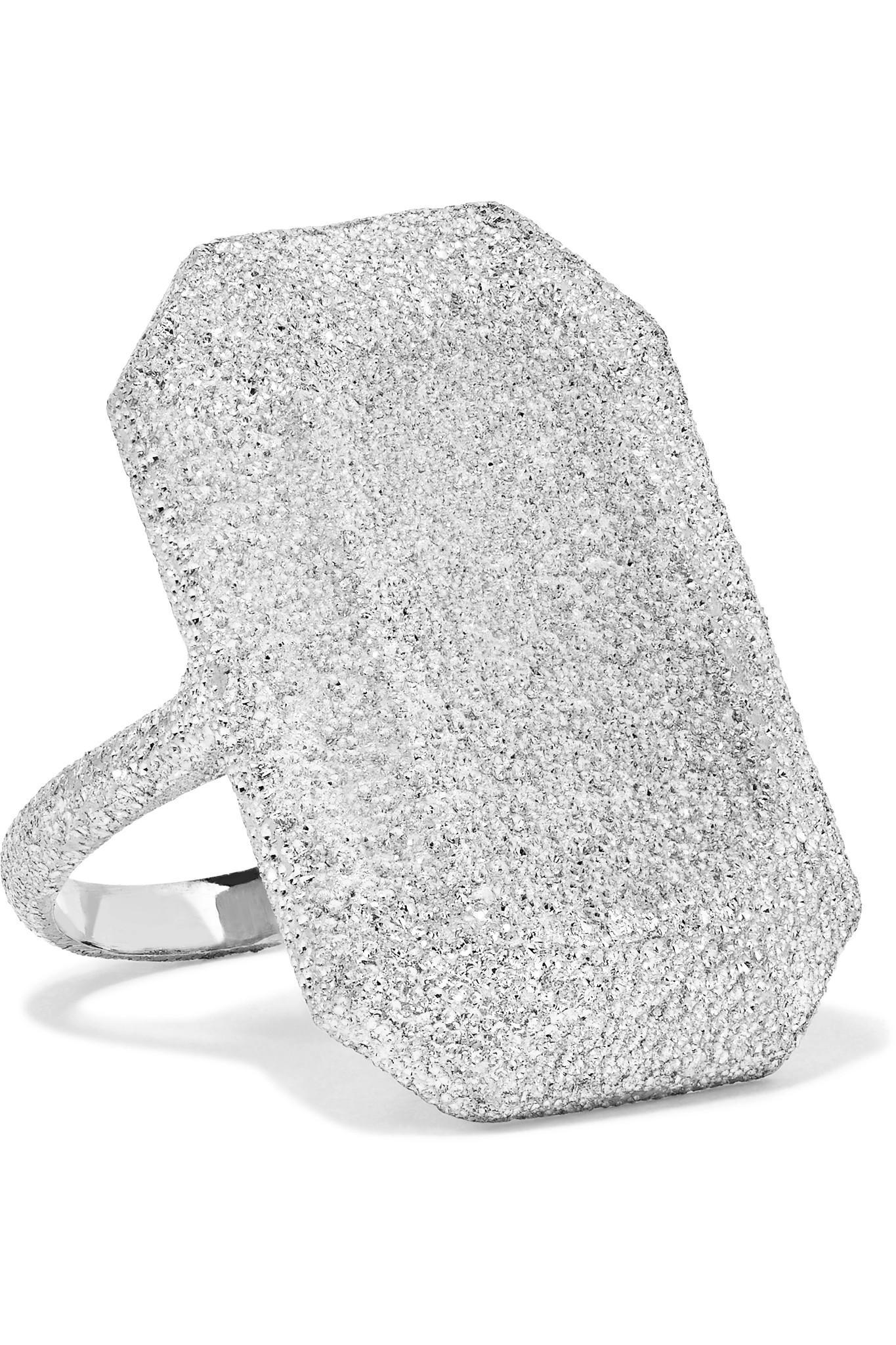 Florentine Heart 18-karat Gold Ring - 7 Carolina Bucci IoKrgND
