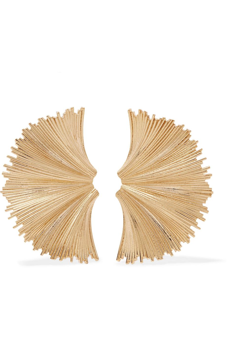 Meadowlark Vita Gold-plated Earrings l4SSriL
