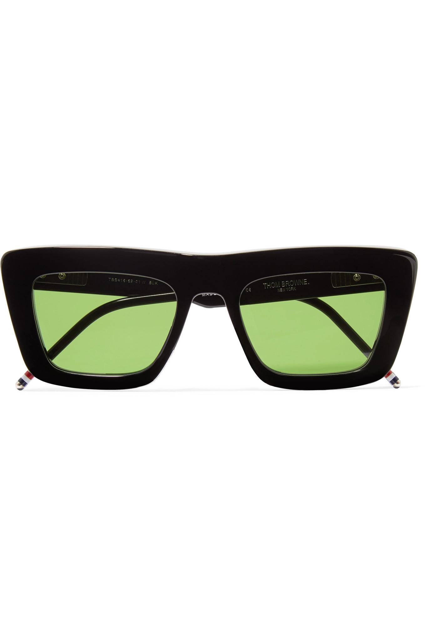 78d3b0724ff Thom Browne Square-frame Acetate Sunglasses in Black - Lyst