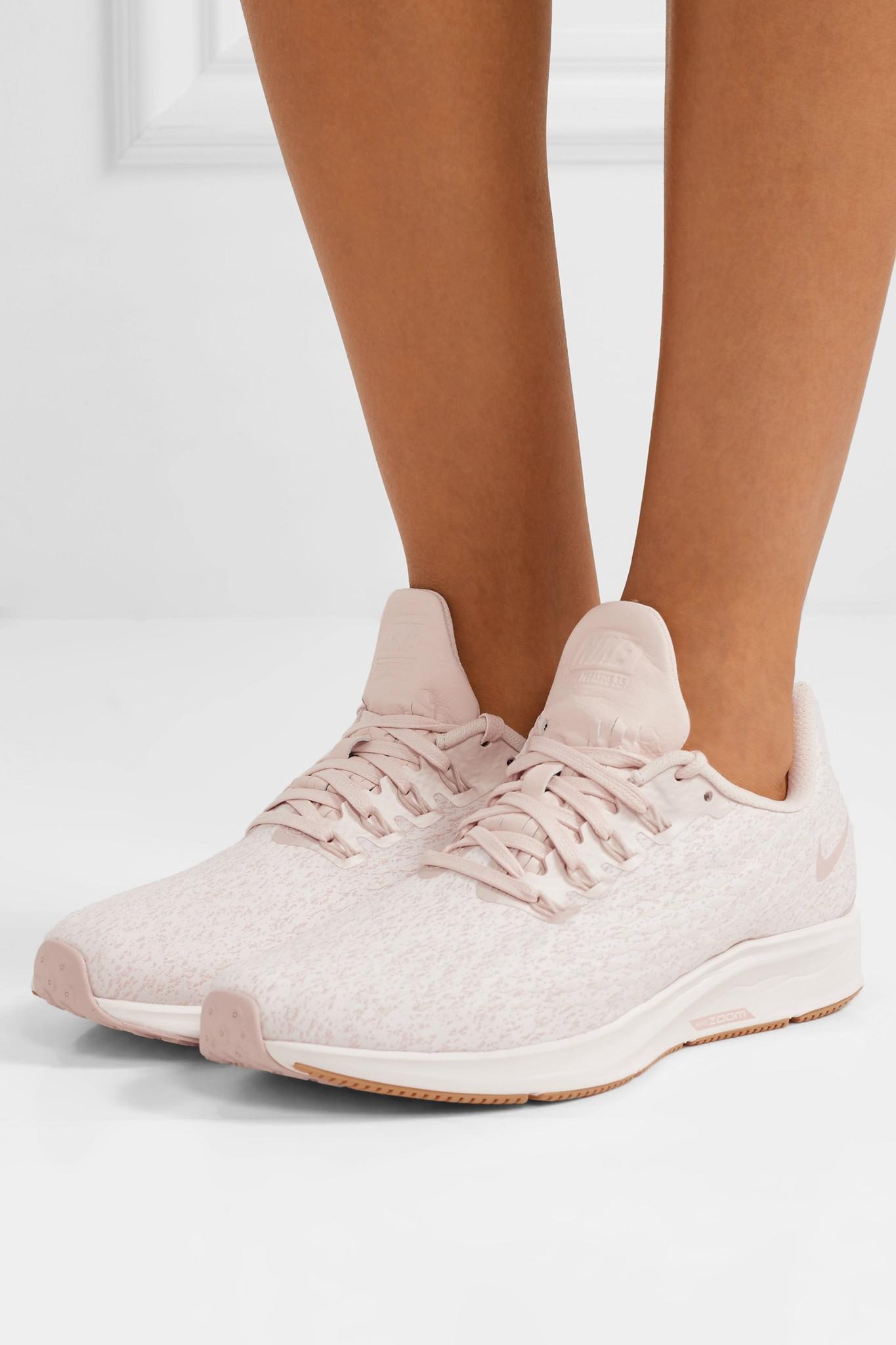 106220a3154 Lyst - Nike Air Zoom Pegasus 35 Premium Mesh Sneakers