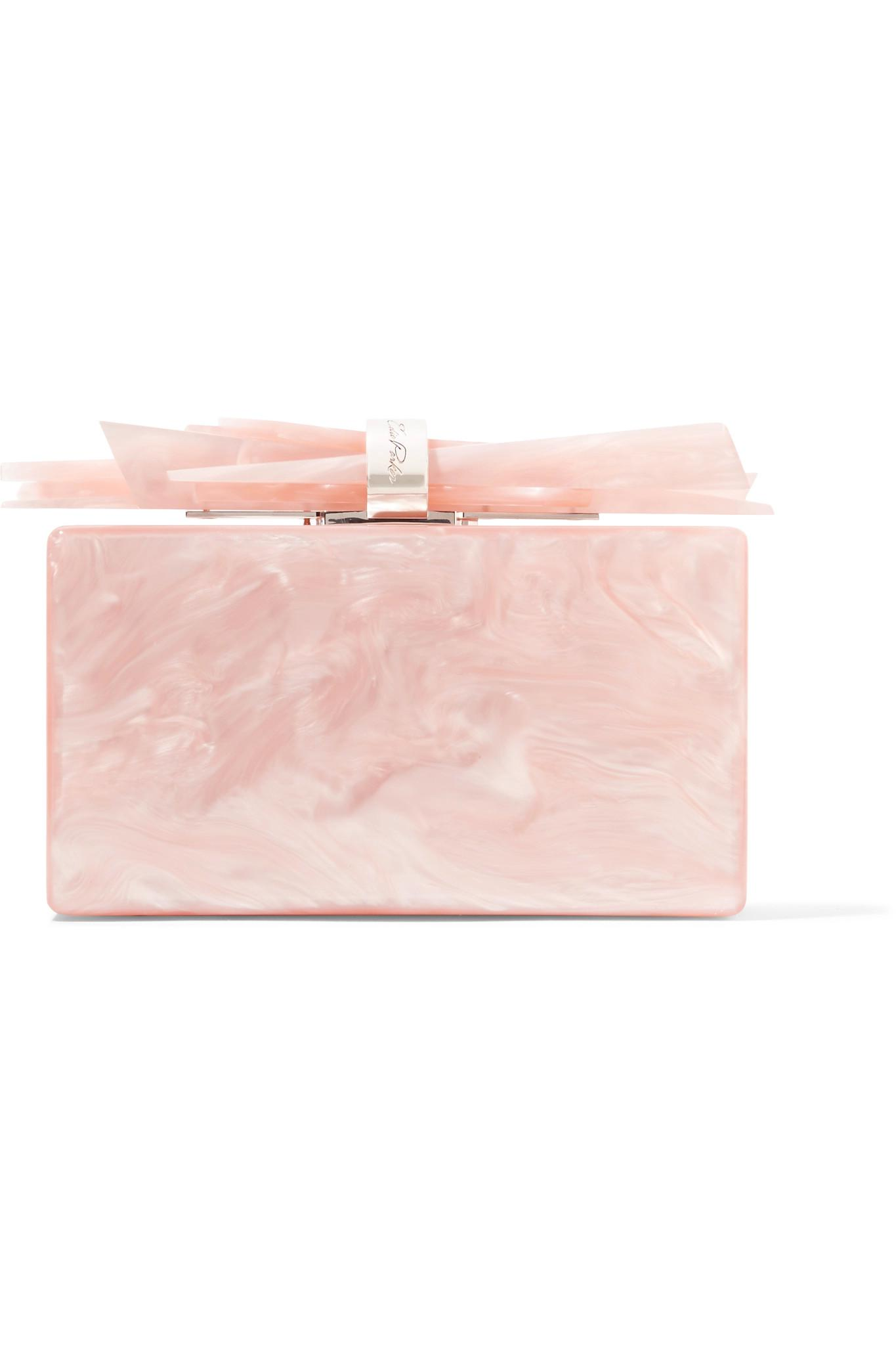 Wolf clutch - Pink & Purple Edie Parker Fashionable Outlet For Cheap Wide Range Of Cheap Price Genuine Sale Online Buy Cheap Shopping Online lOTsrsFo