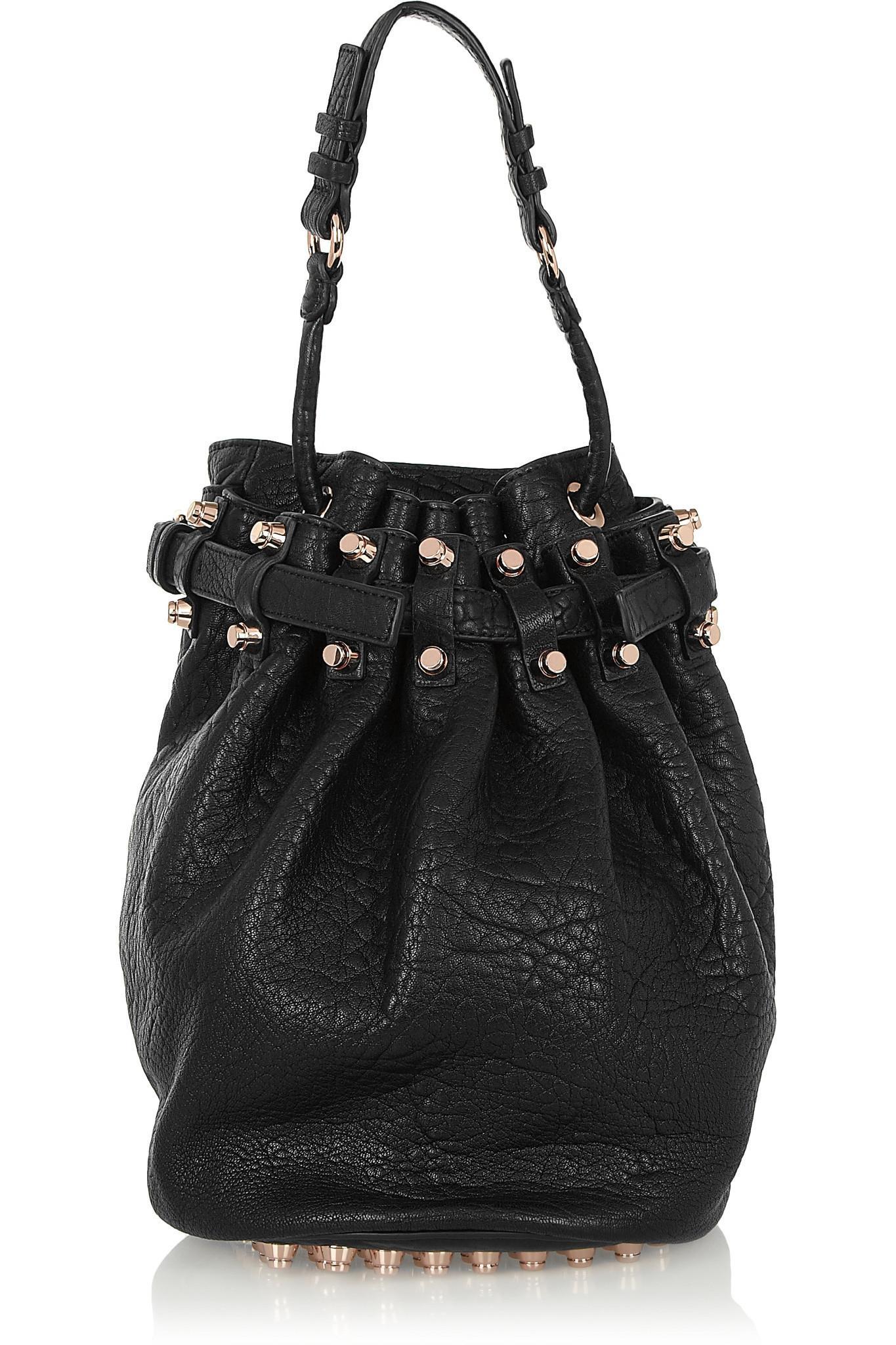 Alexander Wang Diego Bucket Shoulder Bag In Black Lyst