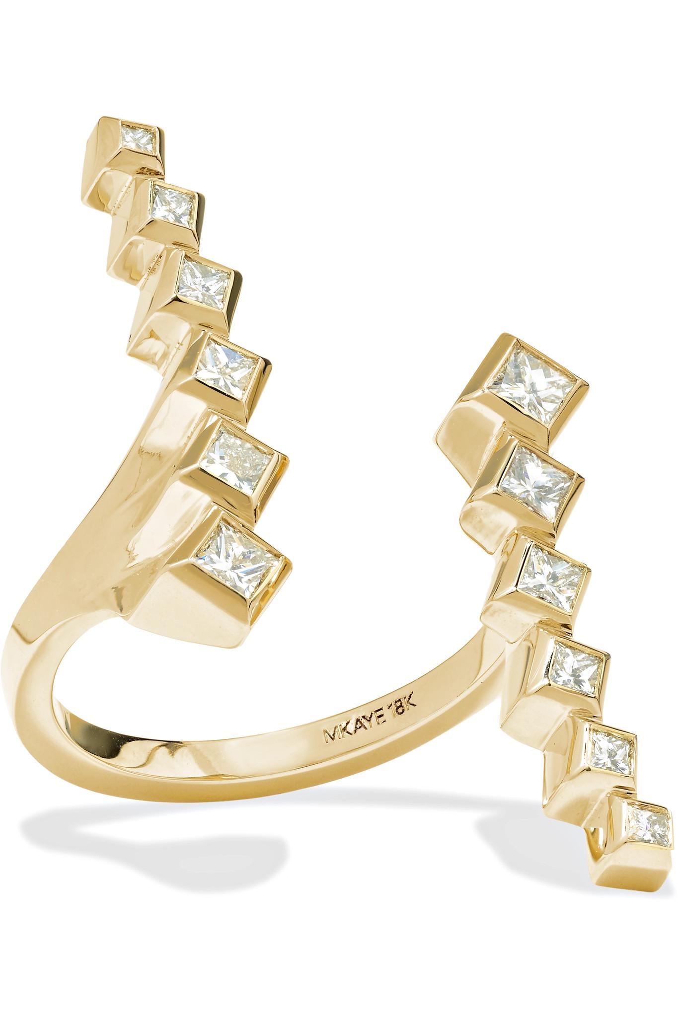 Melissa Kaye Margo 18-karat Gold Diamond Ring hc5tZ