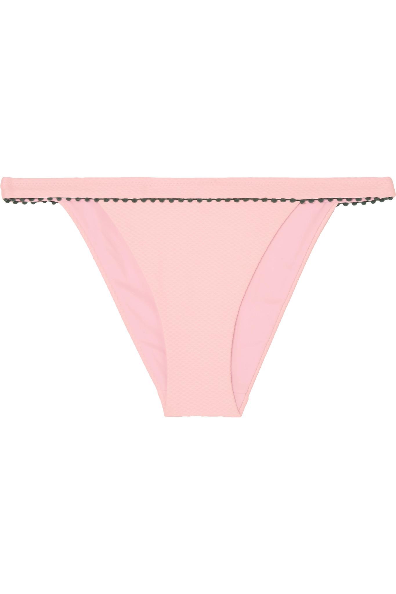 Heidi Klein. Women's Pink St Jean De Luz Bikini Briefs