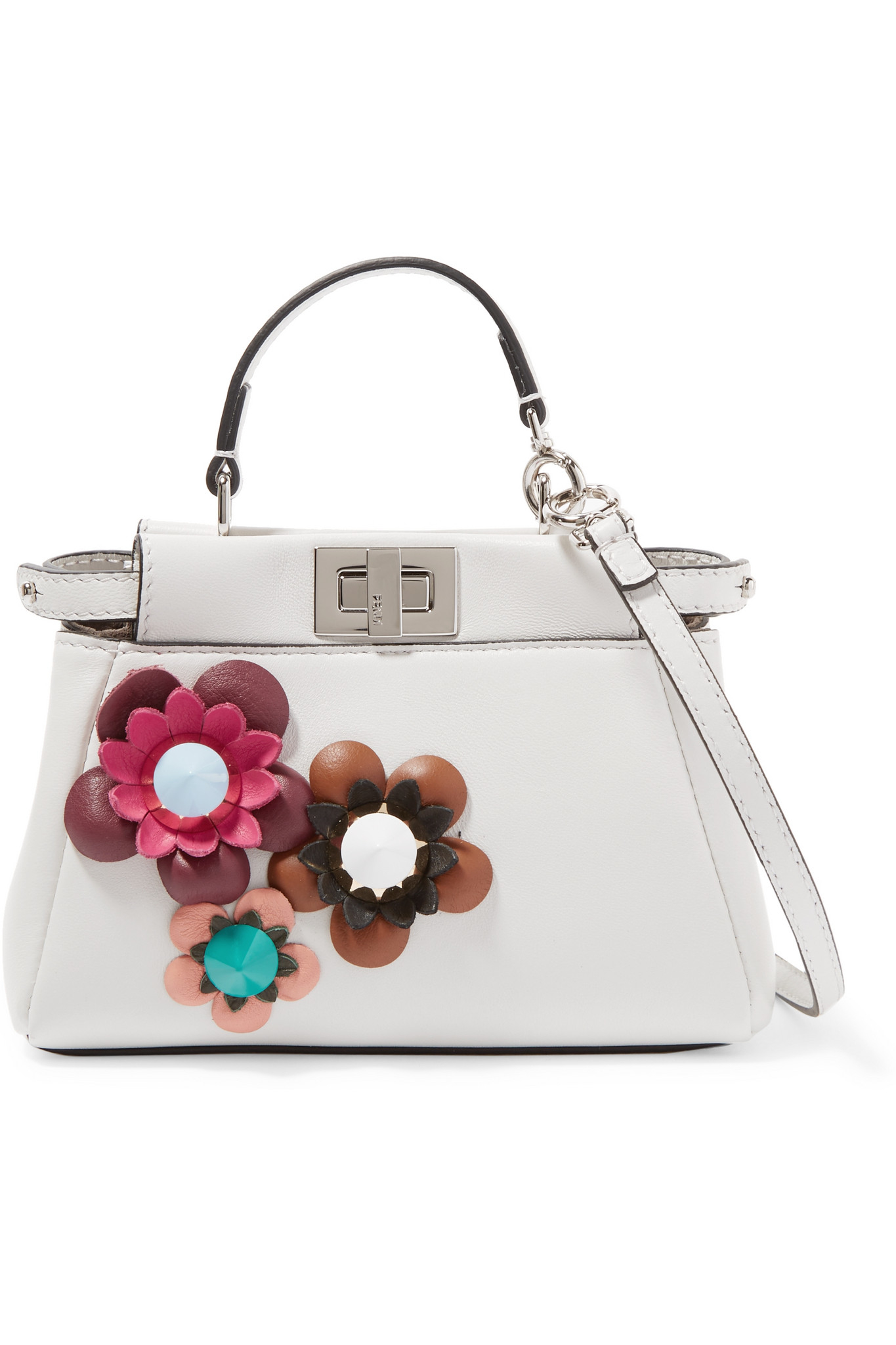 186f23efd6 Gallery. Previously sold at  NET-A-PORTER · Women s Bag Charms Women s Fendi  Peekaboo
