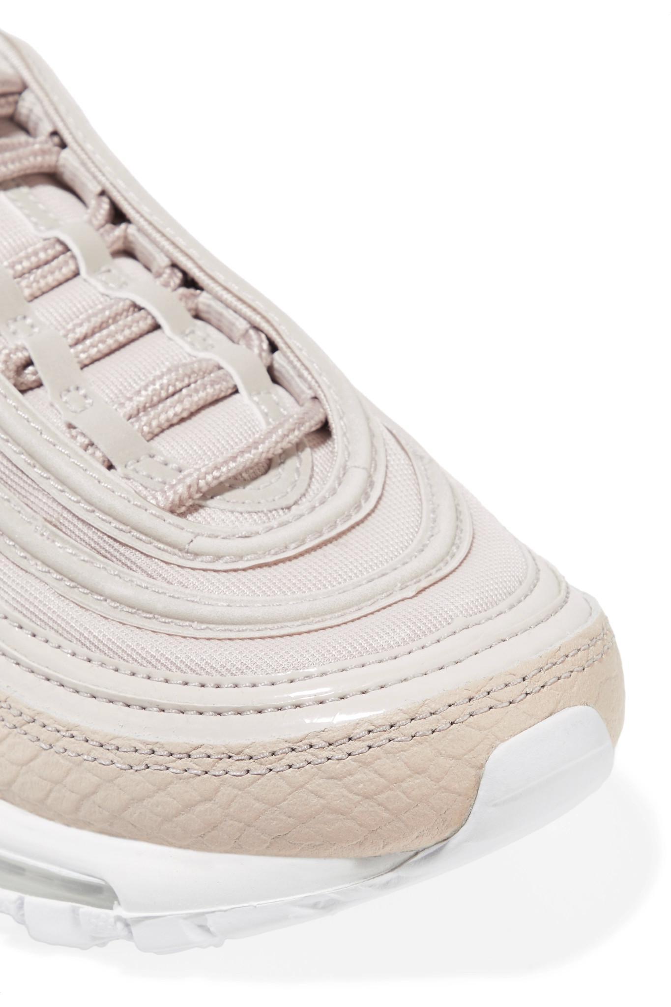 nike sneakers air max 97 aus leder