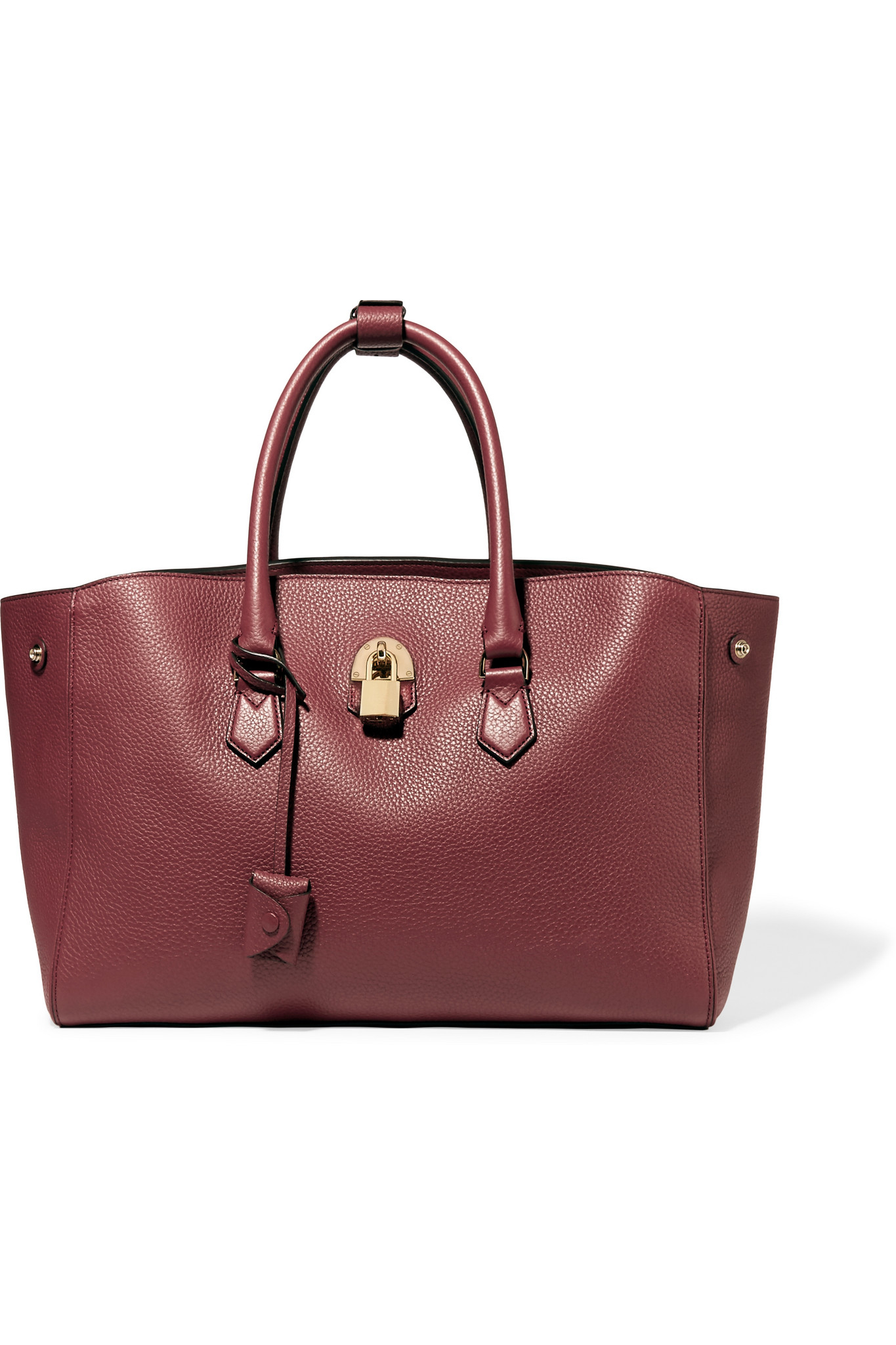 96e021381d Lyst - Mallet   Co Zeus Textured-leather Tote
