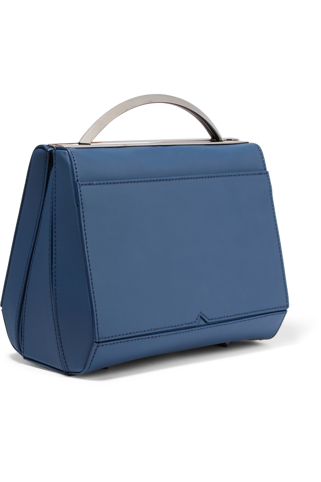 e462d4a281 Lyst - Eddie Borgo Dean Mini Doctor Matte-leather Shoulder Bag in Blue