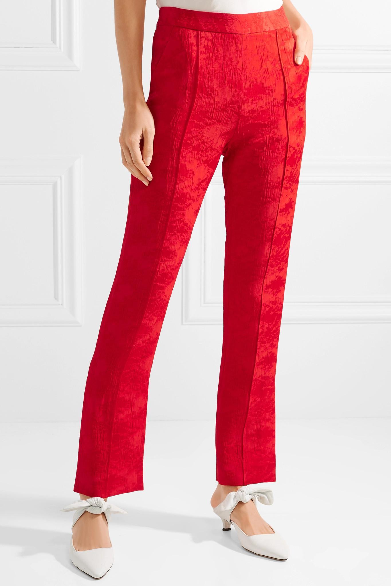 Oboe Jacquard trousers Rosie Assoulin StT5Cty